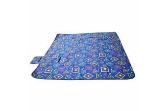 Large 3-Layers Soft Picnic Blanket Rug Waterproof Mat Camping Beach 2mX 2m-Fruit