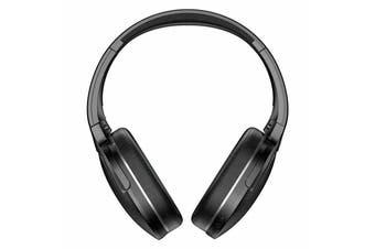 Baseus Bluetooth 5.0 Headphones Noise Reduction Wireless Bass Stereo Headsets-Black