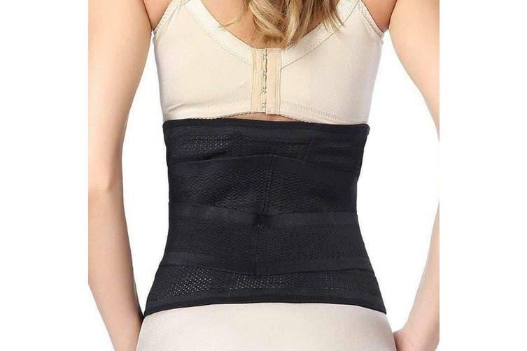 Deluxe Neoprene Back Support Belt Lumbar Support Waist Lower Back Support Brace-Large