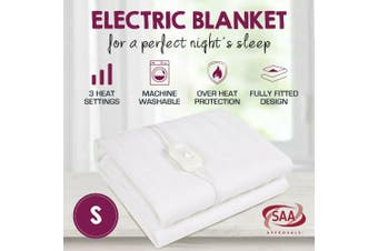 Fully Fitted Washable Non Woven Polyester Electric Blanket Heated Pad S/KS/D/Q/K-Single