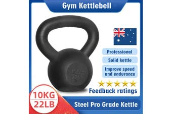 Kettlebell - Home Gym Kettlebell Weight Fitness Exercises Energetics - 10KG