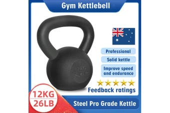 Kettlebell - Home Gym Kettlebell Weight Fitness Exercises Energetics - 12KG