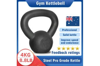 Kettlebell - Home Gym Kettlebell Weight Fitness Exercises Energetics - 4KG