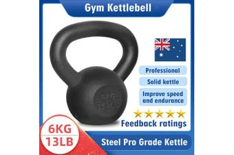 Kettlebell - Home Gym Kettlebell Weight Fitness Exercises Energetics - 6KG