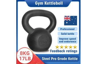 Kettlebell - Home Gym Kettlebell Weight Fitness Exercises Energetics - 8KG