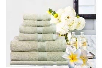 Ramesses 100% Egyptian Cotton Towel Set | 7 Or 14pc Set | Luxury Egyptian Towels- 7pc Set/ Latte
