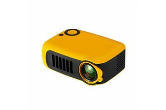 Mini Portable Pocket Projector HD 1080P Movie Video Projectors Home Theater HDMI-Yellow