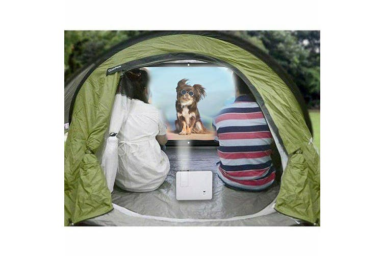 Portable Projector Screen 120 in Home Outdoor Camping 3D HD 16:9 Cinema Theater- 60 inch /16(Ratio)