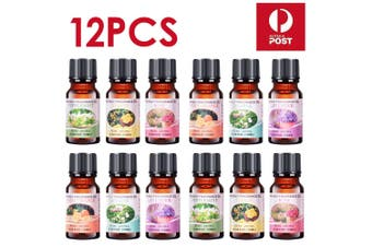 Essential Oils 100% Pure & Natural Aromatherapy Diffuser Essential Oil Set-12 Packs