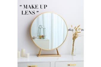 【Vintage Gold】LED Stylis Makeup Mirror Bathroom Light Wall Round 40CM Vanity