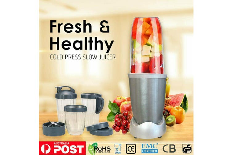 900W Pro Juicer Mixer Extractor Bullet Vegetable Blender/Grind for Smoothie new