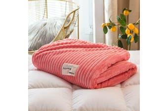 Cuddly Solid Soft Warm Flannel Throw Sofa Bed Blanket Flannel Rug All Size 100X120cm-940