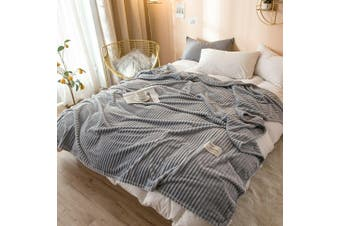 Cuddly Solid Soft Warm Flannel Throw Sofa Bed Blanket Flannel Rug All Size 120x200cm-941