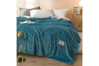 Cuddly Solid Soft Warm Flannel Throw Sofa Bed Blanket Flannel Rug All Size 120x200cm-942