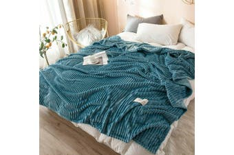 Cuddly Solid Soft Warm Flannel Throw Sofa Bed Blanket Flannel Rug All Size 150x200cm-942