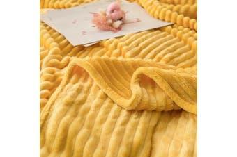 Cuddly Solid Soft Warm Flannel Throw Sofa Bed Blanket Flannel Rug All Size 180x200cm-938