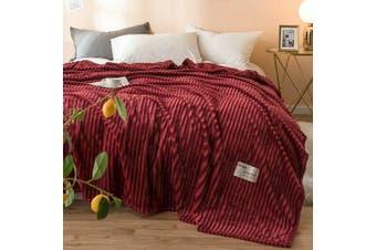 Cuddly Solid Soft Warm Flannel Throw Sofa Bed Blanket Flannel Rug All Size 200X230cm-937