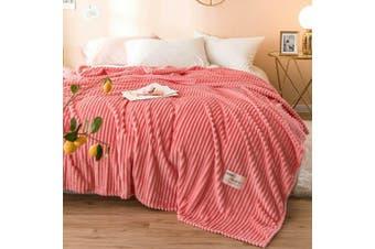 Cuddly Solid Soft Warm Flannel Throw Sofa Bed Blanket Flannel Rug All Size 200X230cm-940