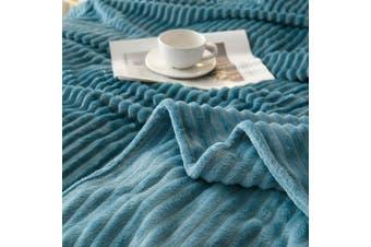 Cuddly Solid Soft Warm Flannel Throw Sofa Bed Blanket Flannel Rug All Size 200X230cm-942