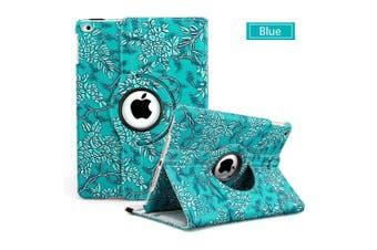 360 Leather Case Cover for Apple iPad mini 4 5-Blue