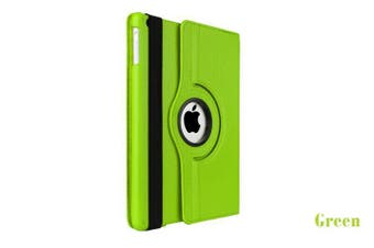 Smart 360 Rotate Leather Case Cover For Apple iPad 6th 2018 9.7 inch-Green