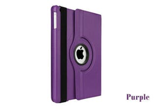 Smart 360 Rotate Leather Case Cover For Apple iPad Mini 1 2 3-Purple