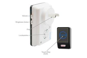 Battery Wireless Door Bell Security Chime Alarm Smart Doorbell IP55