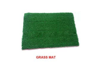 Indoor Dog Training Portable Toilet Loo Pad Tray Only Grass Mat