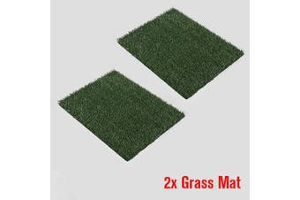 Indoor Dog Training Portable Toilet Loo Pad Tray Only 2 Grass Mat