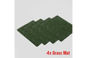Indoor Dog Training Portable Toilet Loo Pad Tray Only 4 Grass Mat