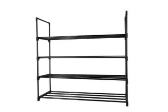 4 Tier Shoe Rack Shoe Tower Shelf Shoe Storage Organizer Shoe Sneaker Bench
