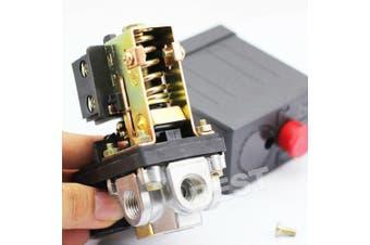 Heavy Duty 90 PSI -120 PSI 240V Air Compressor Pressure Switch Control Valve AU