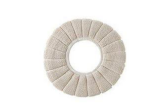 Cover VW Seat Bathroom Cushion Closestool Toilet Soft Pad Washable Warmer Mat - Beige