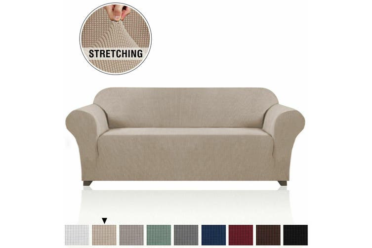 Form Fitted Stretch Couch Cover Sofa, Slip Cover Sofas