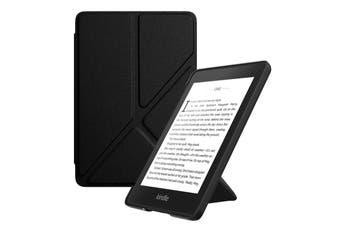 Origami Magnetic PU Leather Case Cover for Kindle 8th-Black