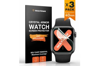 MaxShield Screen Protector for Apple Watch Series 2/3/4/5 iWatch-40mm
