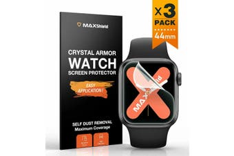 MaxShield Screen Protector for Apple Watch Series 2/3/4/5 iWatch-44mm