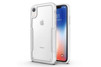 MAXSHIELD Slim Clear Heavy Duty ShockProof Case for iPhone SE 2020-Clear