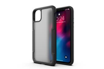 MAXSHIELD Slim Clear Heavy Duty ShockProof Case for iPhone 11-Matte