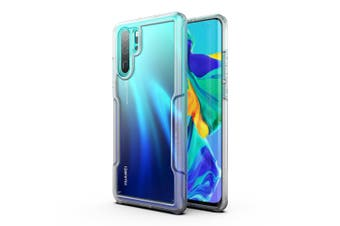 MAXSHIELD Slim Clear Heavy Duty ShockProof Case for P30 Pro Clear