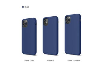 PREMIUM thin Soft Silicone ShockProof Cover for iPhone 11 -Blue