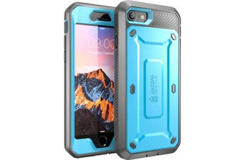 SUPCASE Heavy Duty TOUGH Full-body Rugged Case for iPhone 8-Blue