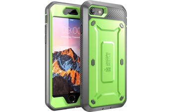 SUPCASE Heavy Duty TOUGH Full-body Rugged Case for iPhone 8-Green