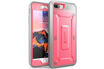 SUPCASE Heavy Duty TOUGH Full-body Rugged Case for iPhone 8 Plus-Pink