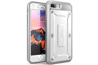 SUPCASE Heavy Duty TOUGH Full-body Rugged Case for iPhone 8 Plus-White