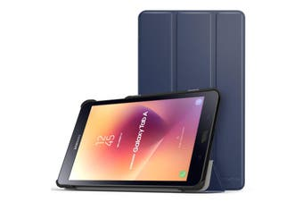 Samsung Galaxy Tab Case Cover SMART Ultra Slim Stand Cover for Tab A 8.0 2017 T380/T385-Navy