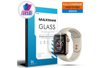 MaxShield Screen Protector for Apple Watch Series SE/6/5/4/3/2/1 40mm iWatch