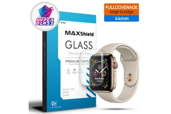 MaxShield Screen Protector for Apple Watch 44mm SE/6/5/4/3/2/1 iWatch