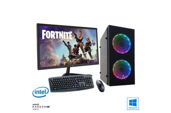"""Intel Esports Gaming PC Bundle: Allied Javelin Core i7 