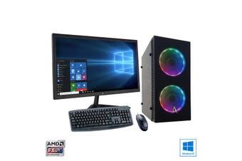 AMD Quad Core Home Office Desktop PC Bundle